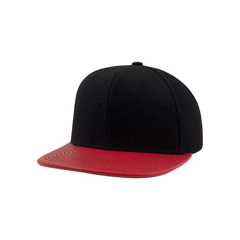 yupoong cap in metallic rot selbst gestalten besticken. Black Bedroom Furniture Sets. Home Design Ideas