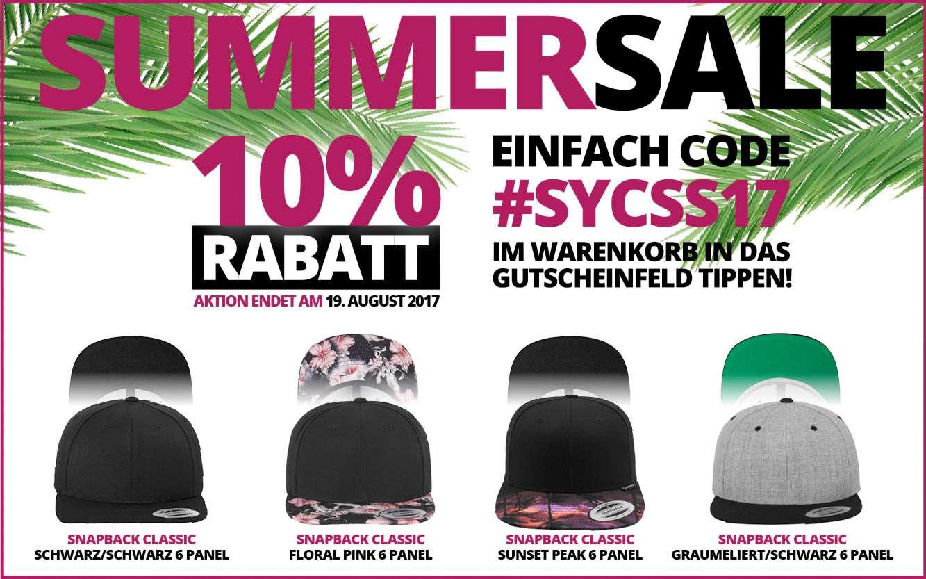 Summer Sale bis 19. August