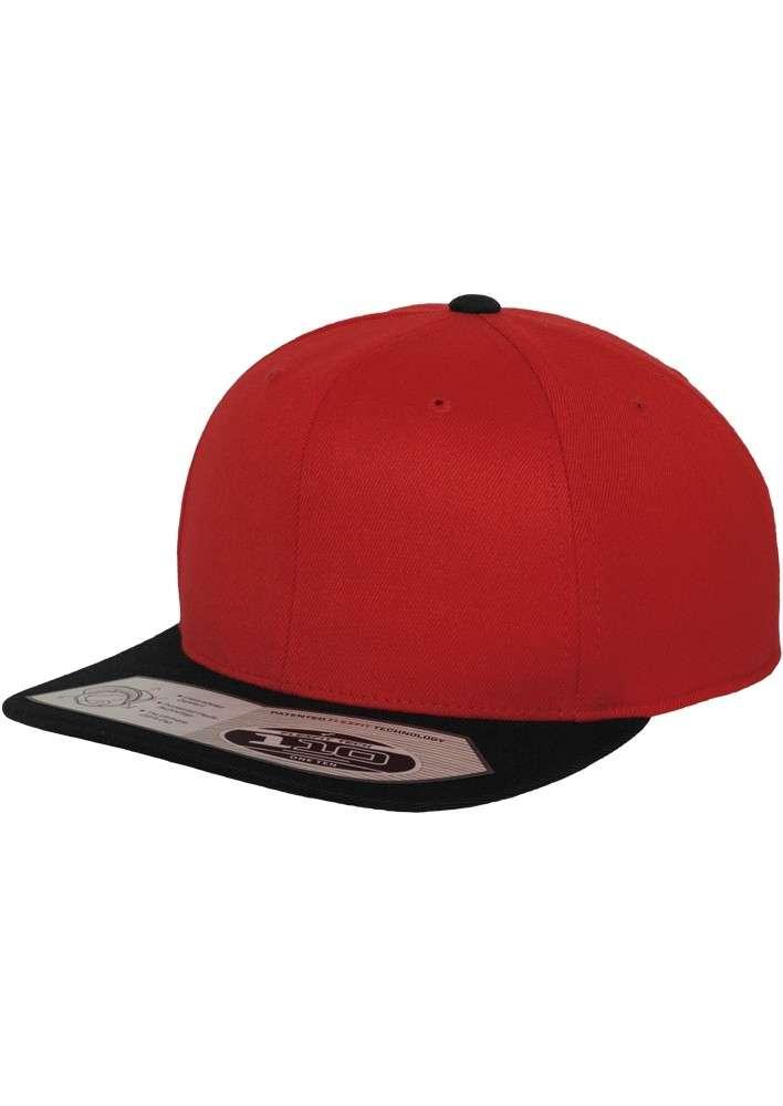 premium snapback cap 110 rot schwarz mit motiv. Black Bedroom Furniture Sets. Home Design Ideas