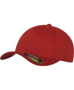 Flexfit Cap Rot 5 Panel - Fitted
