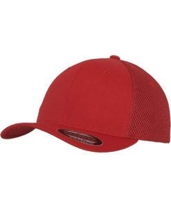 Flexfit Cap Rot Tactel Atmungsaktiv - Fitted