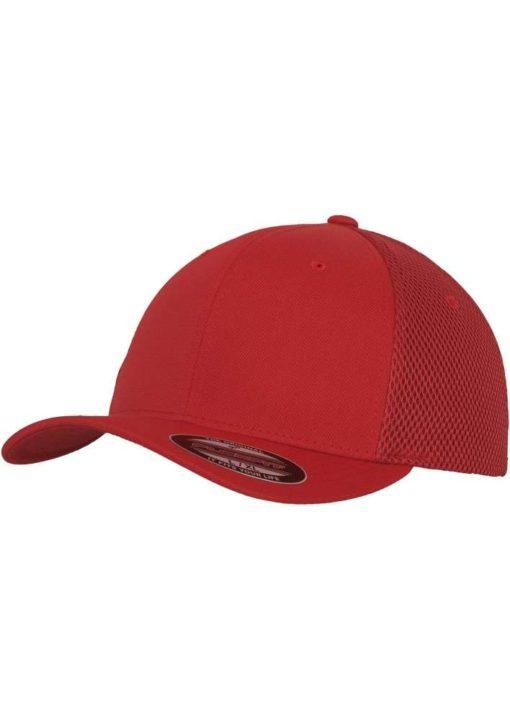 Flexfit Cap Rot Tactel Atmungsaktiv - Fitted