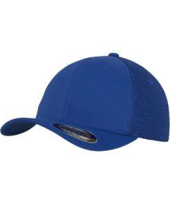Flexfit Cap Blau Tactel Atmungsaktiv - Fitted