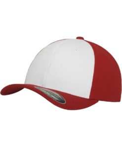 Flexfit Cap Performance Rot/Weiss - Fitted