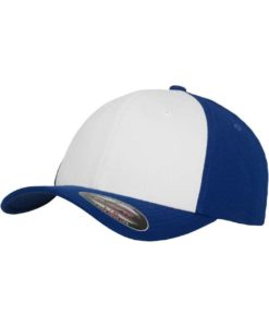 Flexfit Cap Performance Blau/Weiss - Fitted