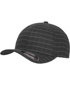 Flexfit Cap Square Dunkelgrau/Grau - Fitted