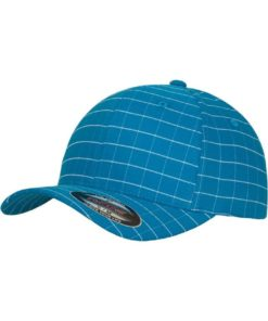 Flexfit Cap Square Türkis/Weiss - Fitted