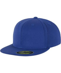 Premium Cap 210 Blau 6 Panel - Fitted