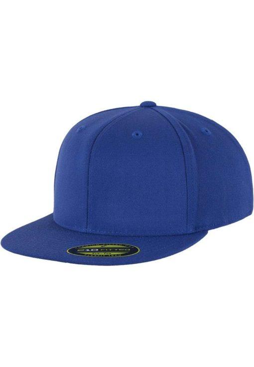 Premium Cap 210 Blau 6 Panel - Fitted