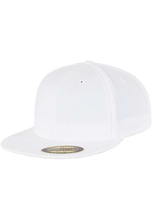 Premium Cap 210 Weiß 6 Panel - Fitted