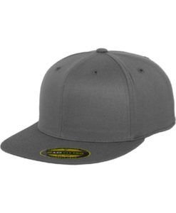 Premium Cap 210 Dunkelgrau 6 Panel - Fitted