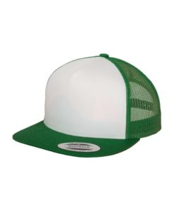 Snapback Cap Classic Trucker grün - verstellbar