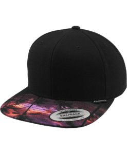 Snapback Cap Sunset Peak 6 Panel - verstellbar