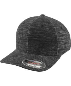 Flexfit Cap Graumeliert Twill Knit - Fitted