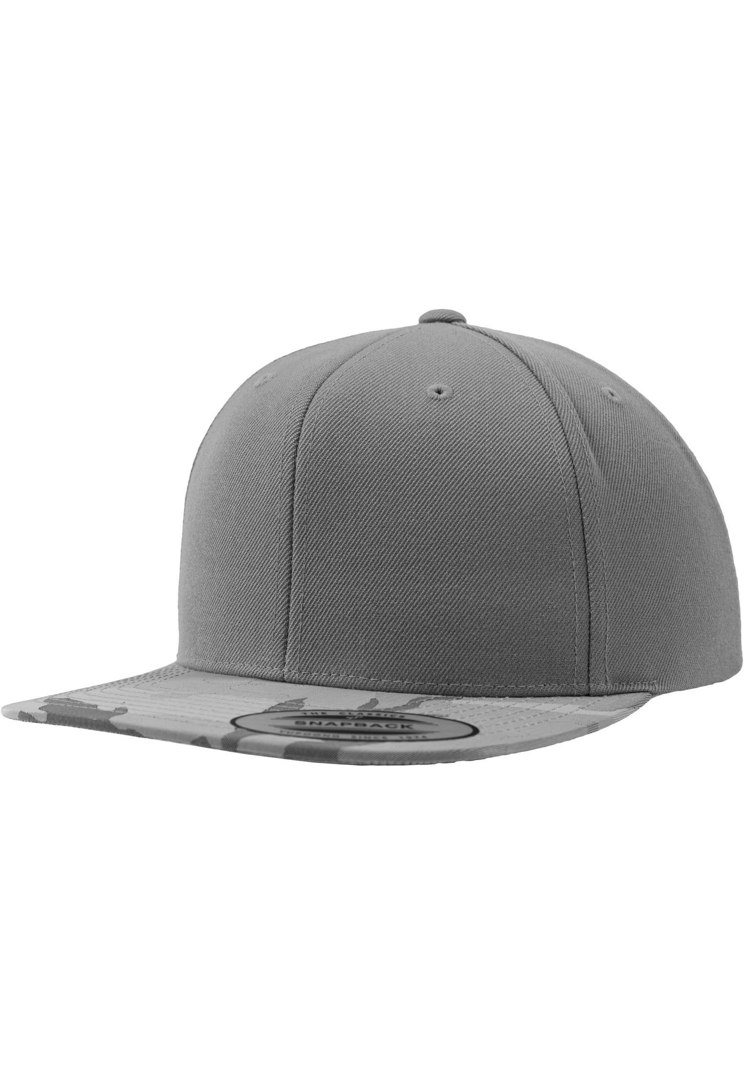 snapback cap in camo silber online mit eigenen motiven besticken. Black Bedroom Furniture Sets. Home Design Ideas