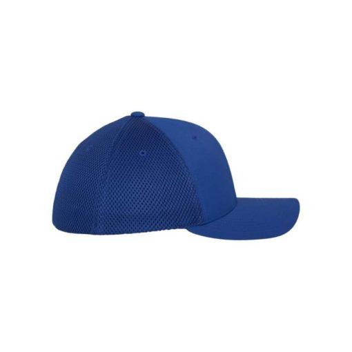 Flexfit Cap Blau Tactel Atmungsaktiv - Fitted Seitenansicht rechts
