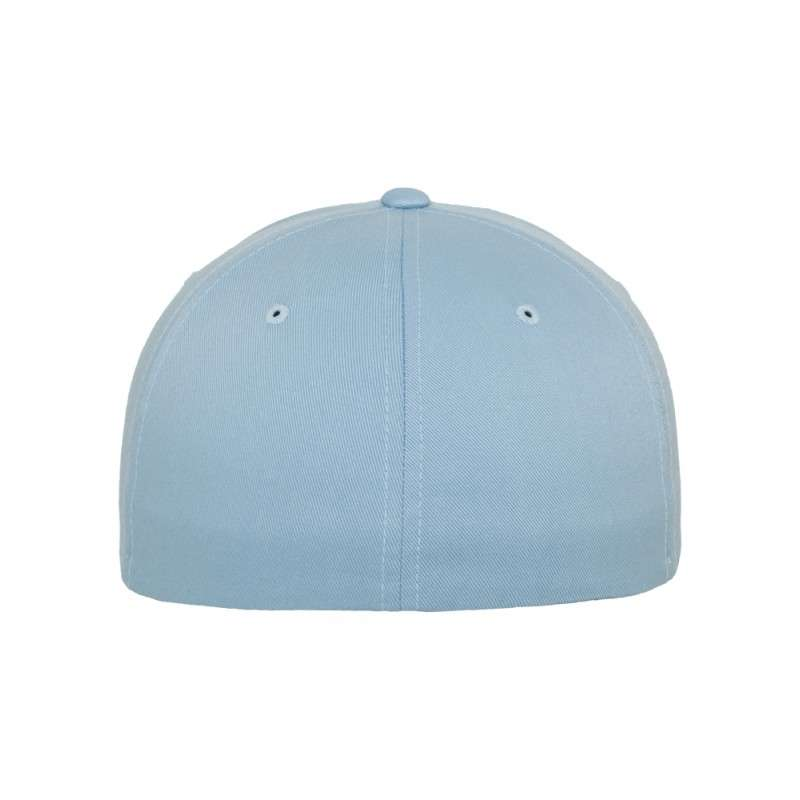 ac536b443311 Premium Flexfit Wooly Combed   Carolina Blue   6 Panel   Fitted ...