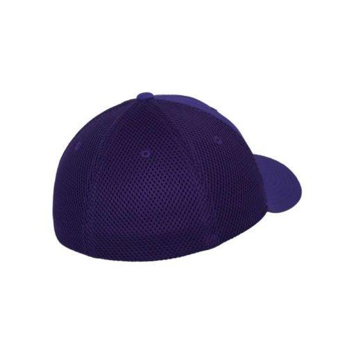 Flexfit Cap Lila Tactel Atmungsaktiv - Fitted Seitenansicht hinten