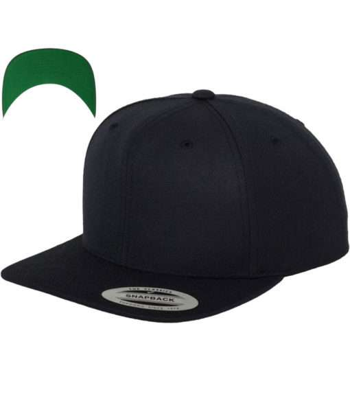 kinder-snapback-cap-classic-schwarzblau-6-panel-verstellbar