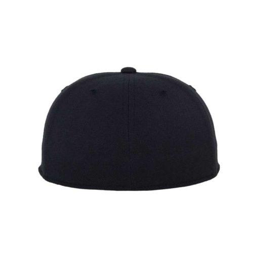 Premium Cap 210 Schwarzblau 6 Panel - Fitted Ansicht hinten