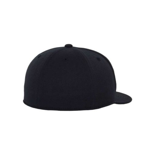 Premium Cap 210 Schwarzblau 6 Panel - Fitted Seitenansicht hinten
