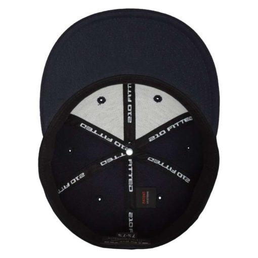 Premium Cap 210 Schwarzblau 6 Panel - Fitted Ansicht innen