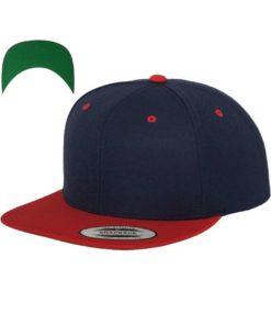 snapback-cap-classic-dunkelblaurot-6-panel-verstellbar