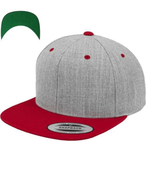snapback-cap-classic-graumeliertrot-6-panel-verstellbar