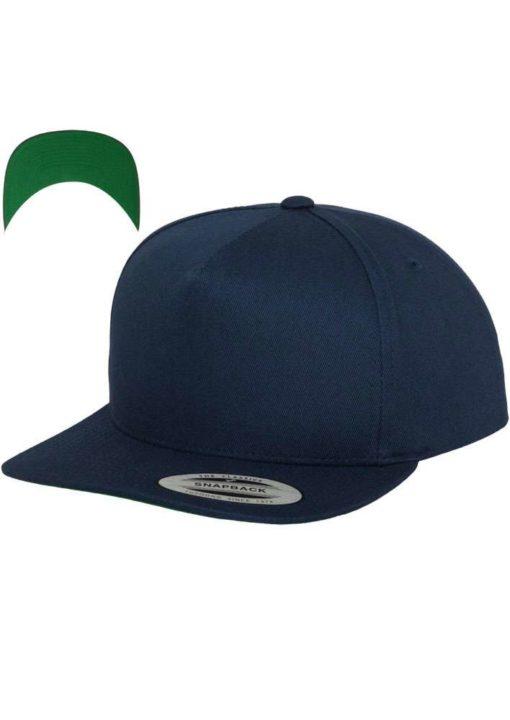snapback-cap-classic-marineblau-5-panel-verstellbar