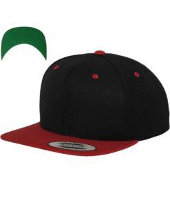 snapback-cap-classic-schwarzrot-6-panel-verstellbar