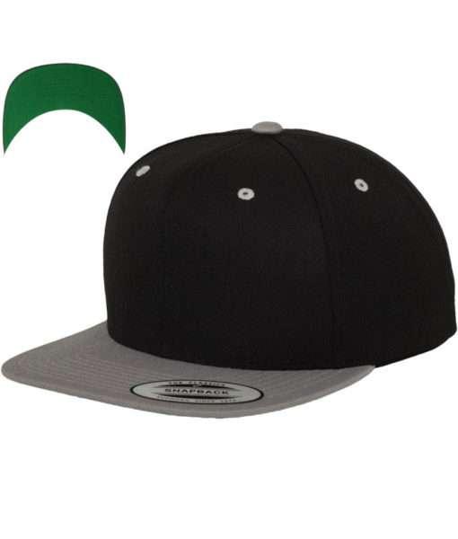 snapback-cap-classic-schwarzsilber-6-panel-verstellbar