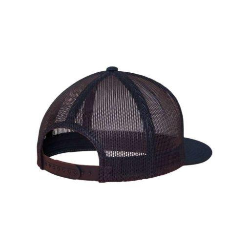 Snapback Cap Classic Trucker dunkelblau- verstellbar Seitenansicht hinten