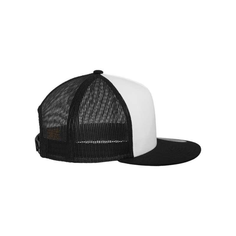 snapback cap classic trucker schwarz besticken lassen. Black Bedroom Furniture Sets. Home Design Ideas