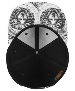 Snapback Cap Sun King 6 Panel - verstellbar Ansicht innen