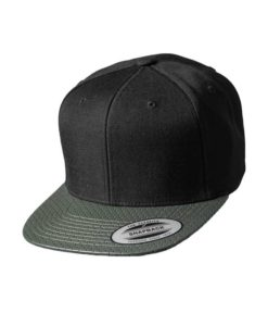 Snapback Cap Perforated Visor Olive verstellbar