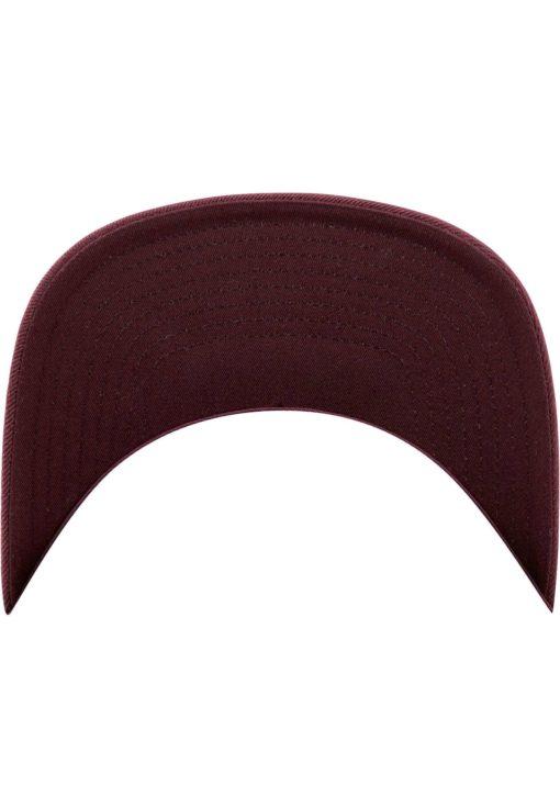 Snapback Cap besticken - Snapback Cap Classic dunkelrot/dunkelrot 6 Panel verstellbar Unterschild