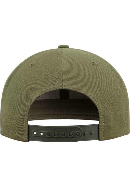 Snapback Cap Classic Buck 6 Panel - verstellbar Ansicht hinten