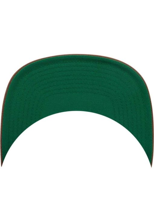 Snapback Cap Classic Tan 6 Panel - verstellbar Schild