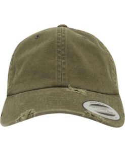 FlexFit Low Profile Destroyed Buck Cap 6 Panel - verstellbar Ansicht vorne