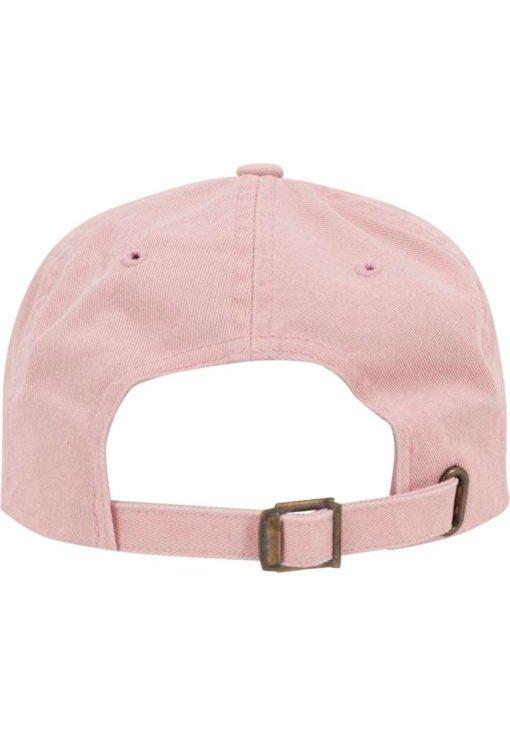 FlexFit Low Profile Destroyed Pink Cap 6 Panel - verstellbar Ansicht hinten