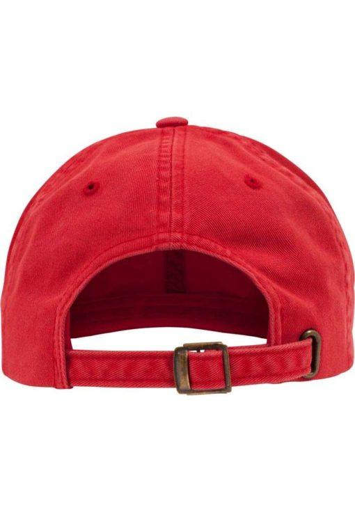 FlexFit Low Profile Destroyed Rot Cap 6 Panel - verstellbar Ansicht hinten