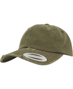 FlexFit Low Profile Destroyed Buck Cap 6 Panel - verstellbar