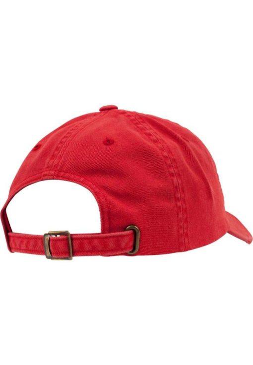 FlexFit Low Profile Destroyed Rot Cap 6 Panel - verstellbar Seitenansicht hinten