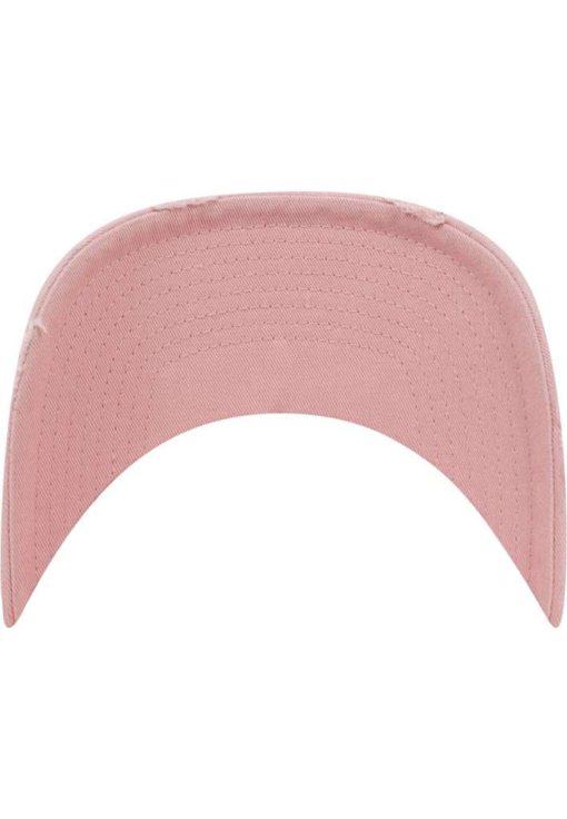 FlexFit Low Profile Destroyed Pink Cap 6 Panel - verstellbar Schild