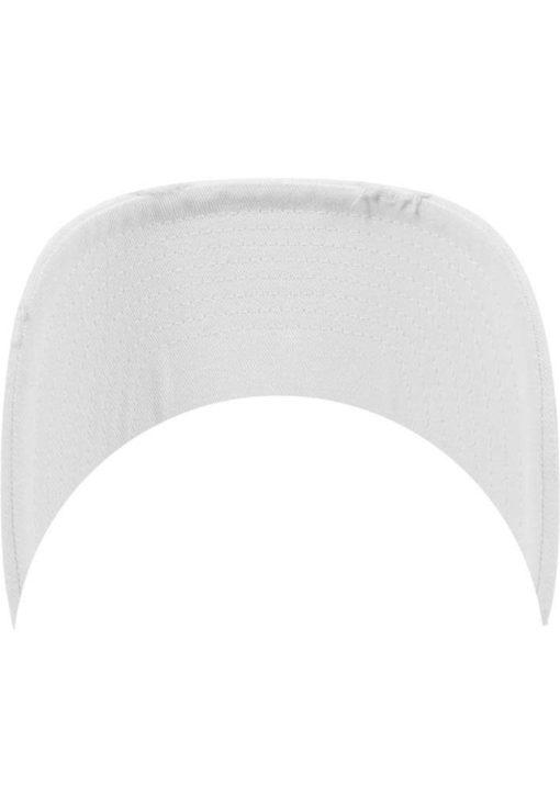 FlexFit Low Profile Destroyed Weiss Cap 6 Panel - verstellbar Schild