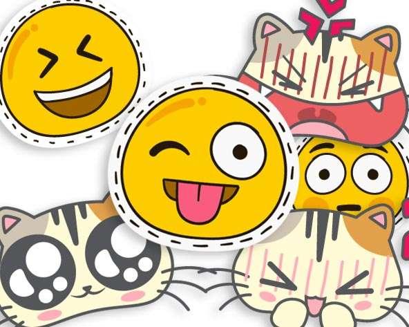 Cap oder Beanie besticken Emojis Fertigmotive