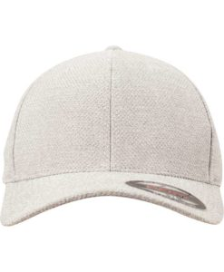 Flexfit Melange Cap light/heathergrey Ansicht vorne