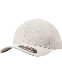 Flexfit Melange Cap light/heathergrey