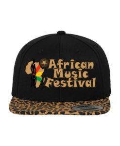African Music Festival Leoparden Cap