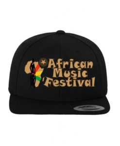 African Music Festival Snapback Cap